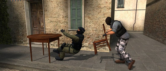 Noobs use teh chair