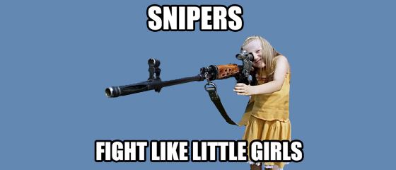 Pic unrelated. But we all hate Sniper, right?
