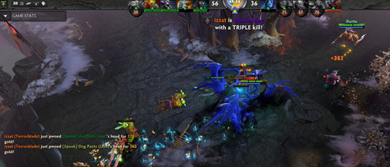 Terrorblade demolishes most of our team