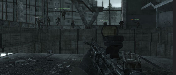 Synchronised diving in COD4