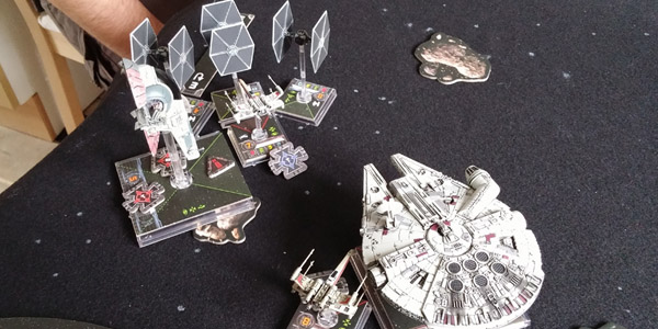 Heavy traffic in the Outer Rim