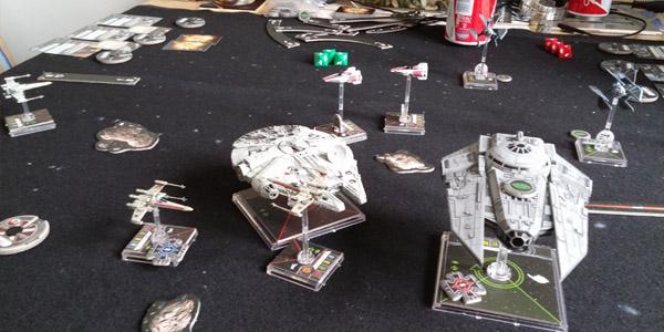 Hardly any ships in contact. A rare sight.